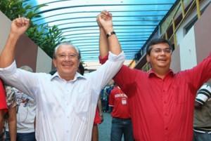 José Reinaldo e Flávio Dino