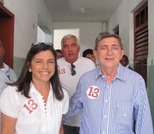 Roseana Sarney e Washington Oliveira