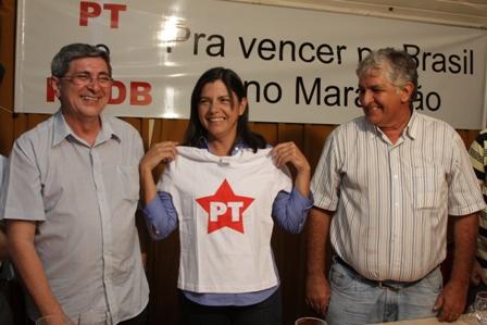 Roseana entre Washington e Monteiro