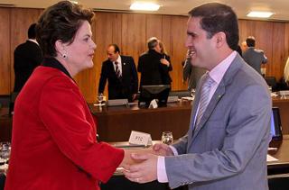 Dilma Rousseff e Edivaldo Júnior (foto antiga)