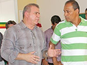 Sérgio Frota e Éverton Goiano