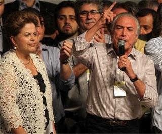 Dilma Rousseff e Michael Temer