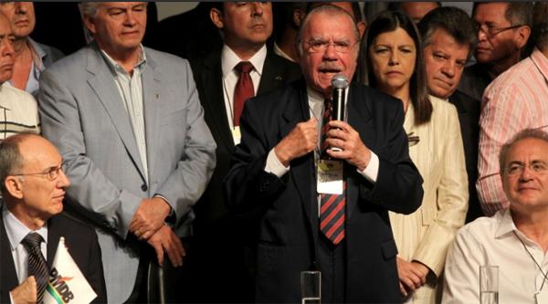 Senador Sarnet defendeu a reedição da parceria com o PT em 2014