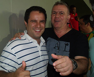 Edivaldo Júnior e Sérgio Frota