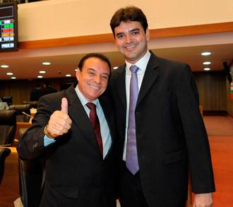 Os comunistas Raimundo Cutrim e Rubens Júnior