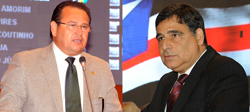 Deputados Stênio Rezende e Max Barros de saída do PMDB
