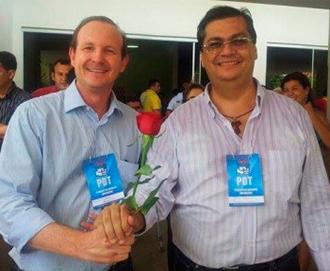 Márcio Honaiser e Flávio Dino