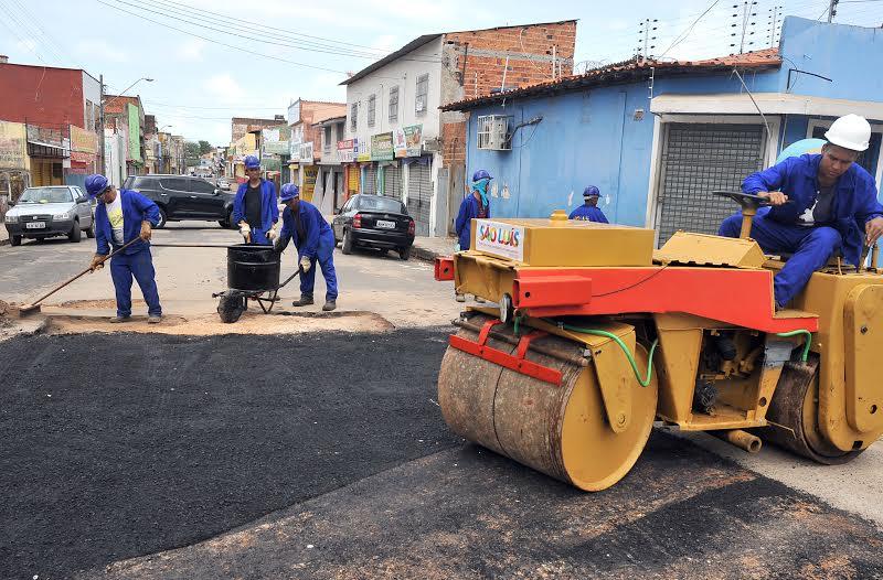 Máquinas retornarão ao João Paulo para darem início à segunda etapa de obras