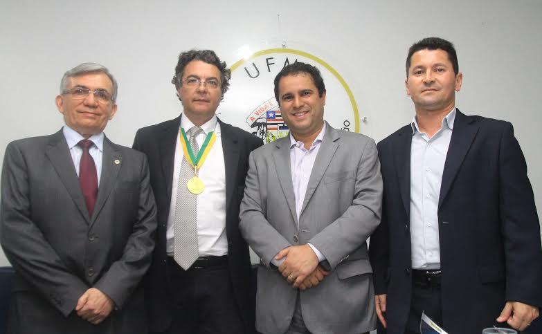 Edivaldo ccom Natalino Salgado, Helvécio Magalhães e Cesar Félix