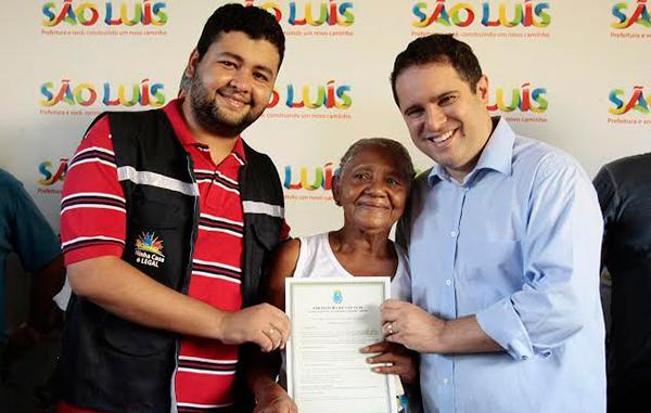 Secretário Diogo Lima e o prefeito Edivaldo Júnior