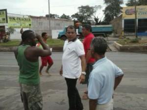 Antonio Araújo planeja ação no bairro