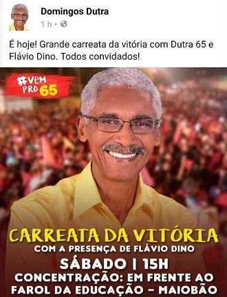 Resultado de imagem para Domingos Dutra e Flávio Dino
